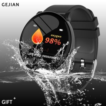 GEJIAN Waterproof Smart Watches for Men and Women