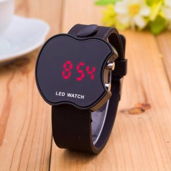 Soft Silicone Sports Watch for Women | Mysmartg